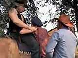Gay Porn from WankOffWorld - Cowboys-Fuck-Trespasser