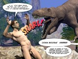 Gay Porn from 3dgayworld - Cretaceous-Cock-3d-Gay-Comics