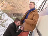 Gay Porn from bigdaddy - Sexy-Hunks-Fuck-Outdoors-Part-1