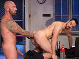 Gay Porn from ClubInfernoDungeon - Long-Arm-Of-The-Law-Scene-3