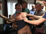 Gay Porn from BoundInPublic - Austin-Sean-And-Connor-Maguire