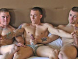 Gay Porn from activeduty - Corey-Tim-And-Wayne-Threeway