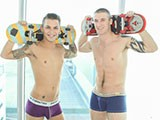 Gay Porn from ManRoyale - Skater-Bois-Grind-Cocks