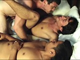 Gay Porn from LaughingAsians - Daddy-Mike-Fucks-Two-Twinks-2