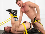Gay Porn from BoundJocks - Hans-Berlin-Fucks-Steven-Ponce