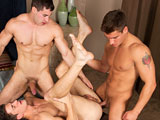 Gay Porn from seancody - Joey-Randy-And-Jordan-Bareback