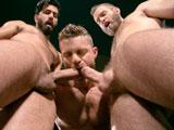 Gay Porn from RagingStallion - Shawn-Wolfe-Landon-Conrad-And-Adam-Ramzi
