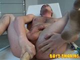 From BoysSmoking - Dildo-Twink-Smoke