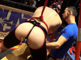 Gay Porn from BoundJocks - Dolan-Wolf-And-Blue-Bailey-Electric-Plug