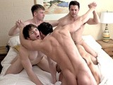 Gay Porn from gayhoopla - 5-Hot-Guy-Orgy
