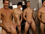 Circle Jerk At Frat - Gay Hoopla