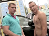 Gay Porn from bigdaddy - Anal-Fucking-At-The-Public-Carwash-Part-1
