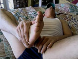 Gay Porn from toegasms - A-Reverse-Foot-Fuck-With-Joey