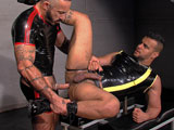 Gay Porn from TitanMen - Soaked-Scene-3-Tony-And-Alessio