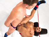 Gay Porn from BoundJocks - Lucas-Knight-Fucks-Brock-Avery