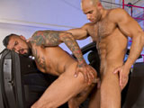 Gay Porn from RagingStallion - Boomer-Banks-And-Sean-Zevran