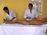 Gay Porn from LaughingAsians - Rave-Visits-Doctor-Tickles