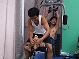 Gay Porn from LaughingAsians - Idols-Ticklish-Workout