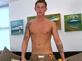 Gay Porn from englishlads - Electrician-Hunter-Shows-Off
