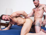 Gay Porn from LucasEntertainment - Tomas-Brand-And-Sergeant-Miles-Work-Up
