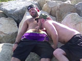 Gay Porn from deviantotter - Bare-Beach-Bromance-Part-1