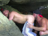 Gay Porn from deviantotter - Bare-Beach-Bromance-Part-2