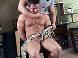 Power-Man-Tied-Up-Worship - Gay Porn - buffandbound