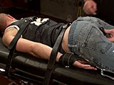 Gay Porn from ironlockup - Tied-Down-Cock-Choking