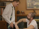 Gay Porn from mormonboyz - Bishop-Angus-Manhandles-Elder-Lindsay