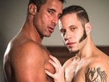 Gay Porn from iconmale - Nick-Capra-And-Wolf-Hudson