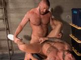 Gay Porn from TitanMen - Jailbreak-Jailer-Hunter-Marx-Fucks-Inmate-Drake-Jayden