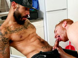 Gay Porn Video from NextDoorEbony - Fringe-Benefits