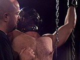 Gay Porn from ironlockup - Nipple-Clamp-Spanking