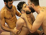 Gay Porn from AmateursDoIt - Amateur-Beards-Covered-In-Cum