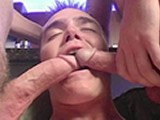 Marine and 2 Sailors Sucking D