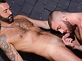 Gay Porn from CazzoClub - Spanish-Pig-Takes-German-Cock