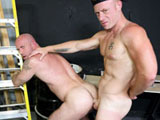Gay Porn from menover30 - Unloading-At-Work
