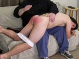 Gay Porn from SpankingStraightBoys - Chris-First-Spanking