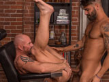 Gay Porn from TitanMen - Adam-Ramzi-Gets-A-Trim-From-Mitch-Vaughn