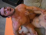 Gay Porn from AllAmericanHeroes - Sergeant-Randy-Nails-Lieutenant-Zach