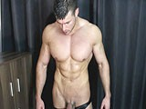 Gay Porn from joshuaarmstrong - Persuaded-To-Flex-And-Cum