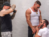 Officers-Bruce-Beckham-And-Eddy-Ceetee - Gay Porn - TitanMen