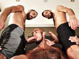 Louis-Ricaute-Bareback-3some from TimTales