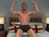 Gay Porn from englishlads - Ripped-Straight-Lad-Ellis-Shows-Off