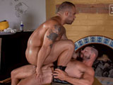 Gay Porn from TitanMen - Lorenzo-Flexx-Takes-Tex-Davidsons-Huge-Cock