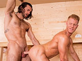 Gay Porn from HotHouse - Johnny-V-And-Woody-Fox