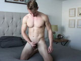 Gay Porn from gayhoopla - Adam-Mackie-Jerks-His-Cock