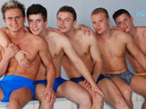 Casper Wats, Dion Davydov, Justin Corner, Nico Siderrpolus And Tom Hawai