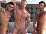 Hot-Muscle-3-way - Gay Porn - americanmusclehunks