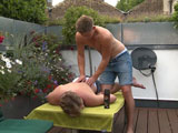 From englishlads - Aaron-Gets-Massaged-And-Wanked